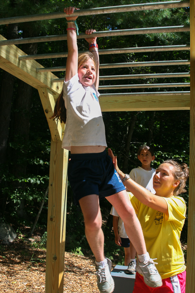 Monkey Bars at Adventure Fitness