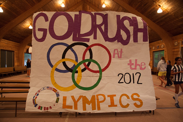 Gold Rush at the Olympics 2012