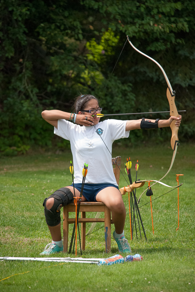 Everyone can enjoy Archery