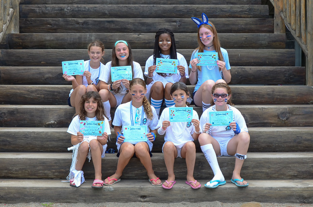 Honesty & Integrity 2014 Campers of the Week