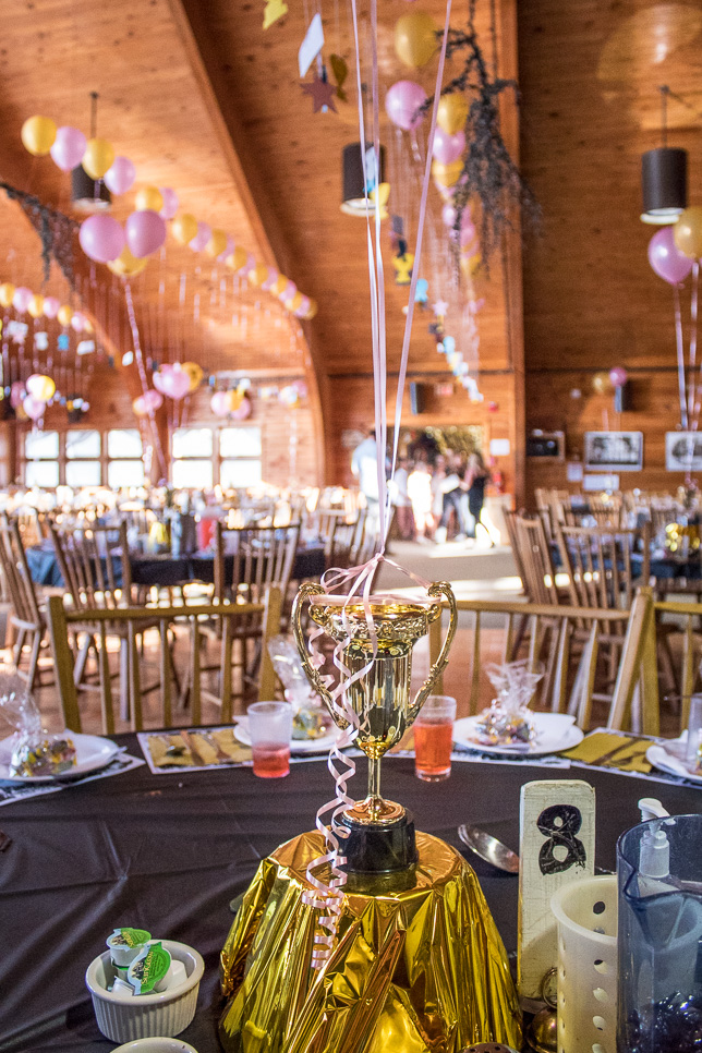 Branquet 2017 Hall of Fame Centerpieces