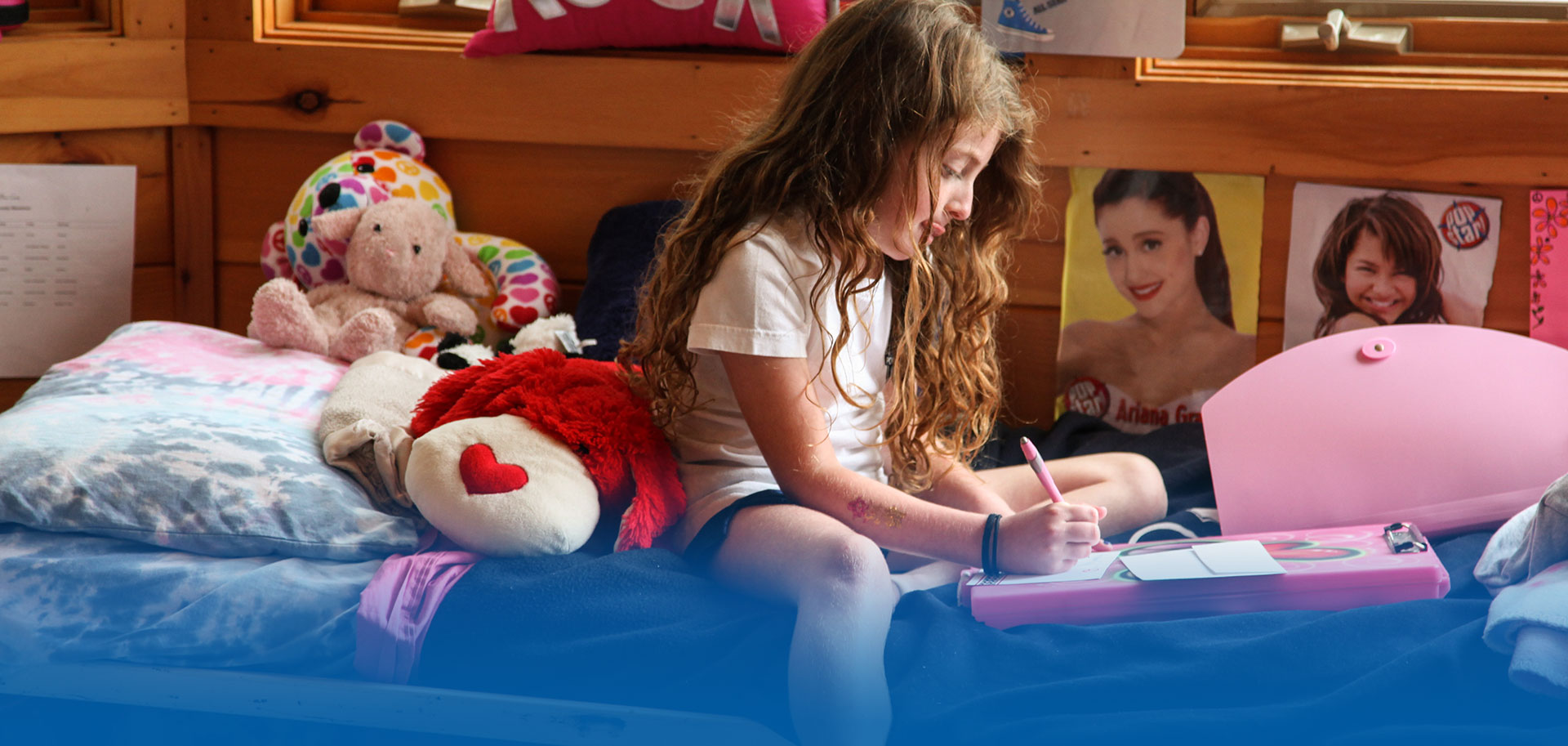 Bunk life at summer camp for girls in New York