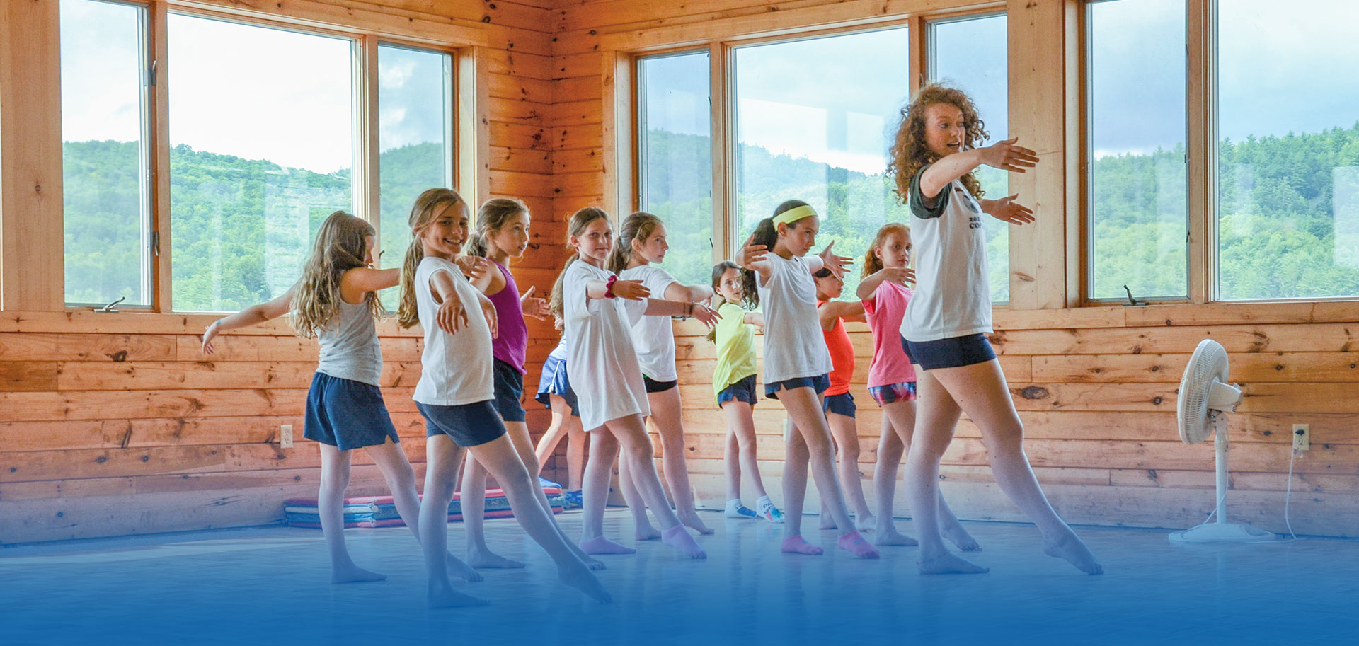 Summer camp program at Point O'Pines in New York