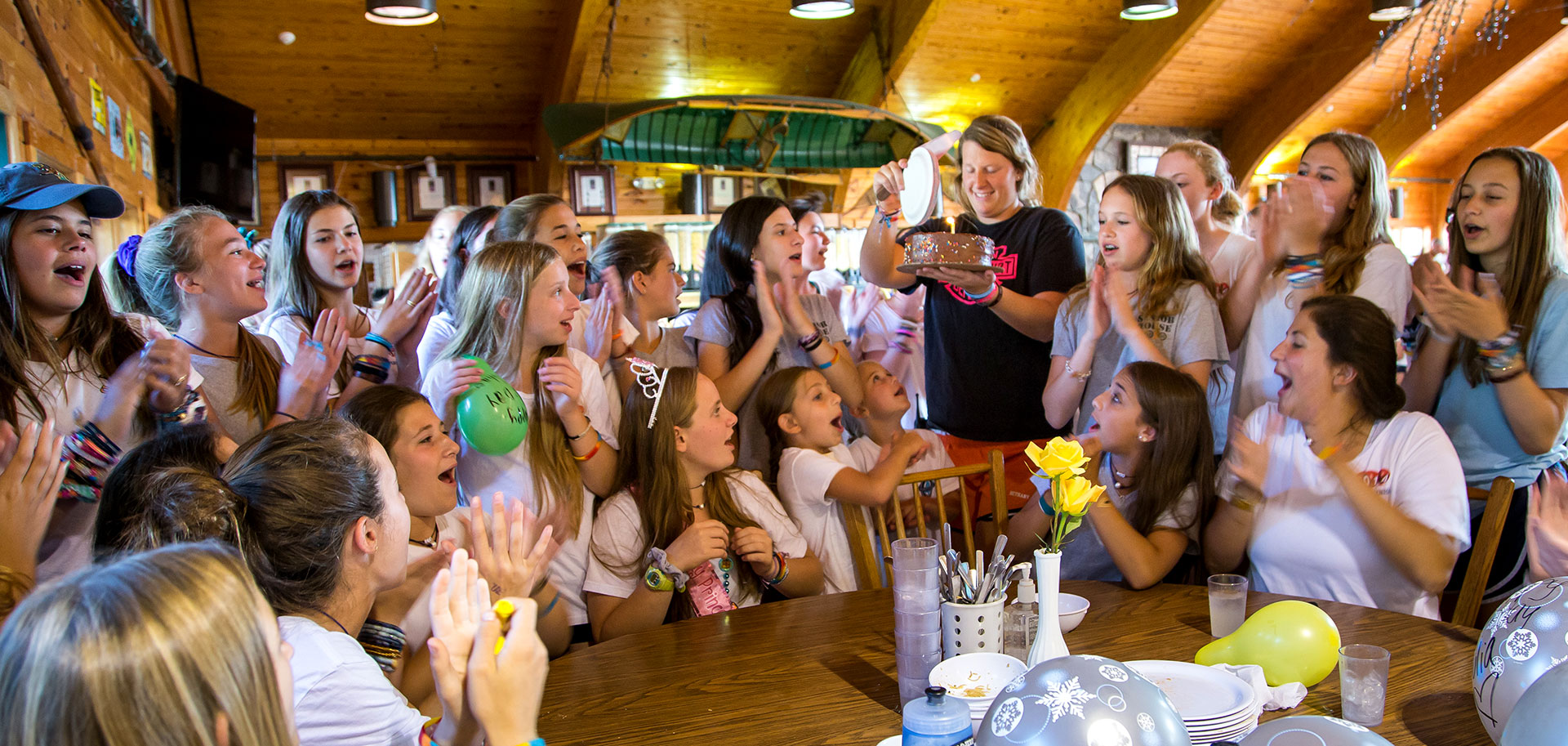 Birthdays at Point O'Pines Camp For Girls