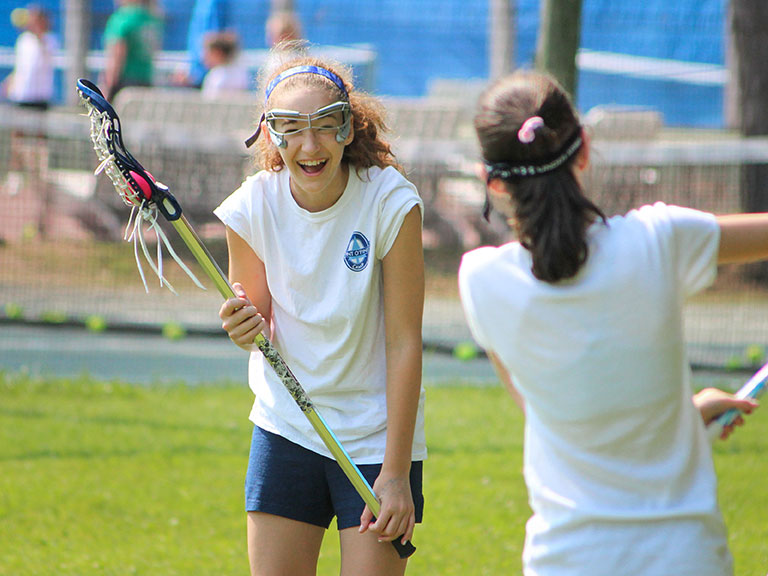 lacrosse at summer camp