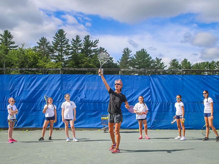 tennis camp in new york