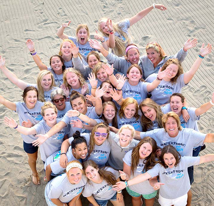 Summer camp staff welcome you to Point O'Pines Camp For Girls