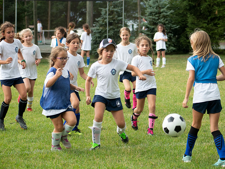 Soccer camp for girls