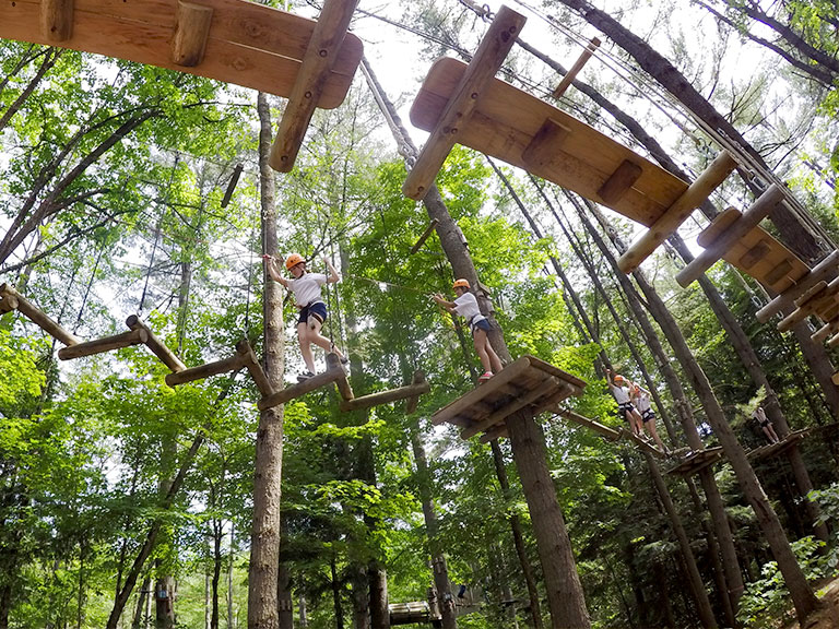 Wilderness and adventure course